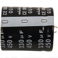 62-0471-105 - Radial Capacitor, 105 Degree, 450V, 330MF