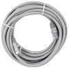Cat5e 15ft Gray Patch Cord with RJ45 Connectors, 24AWG,  Shielded - 64-0064-15