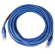 Cat6 Patch Cord 15ft Molded Strain Relief Blue - 64-0066-15