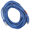 Cat6 Crossover Patch Cord 25FT Molded Strain, Relief Blue - 64-0066-25