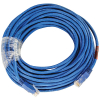 Cat6 Crossover Patch Cord 50ft Molded Strain Relief Blue - 64-0066-50