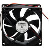 "Cooling Fan, 3.62"" X 3.62""x 0.98"", 12V, 2 Wire, Ball Bearing, W/o Connector - 70-0226-10"