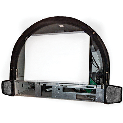 "Light Pro LED Edge-Lit Panel Kit for IGT Game King 17"" Upright Round Top - 70-36595-00-KIT - Item Photo"