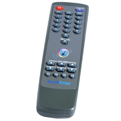TouchTunes Grey Universal Remote - 700031-004 - Item Photo