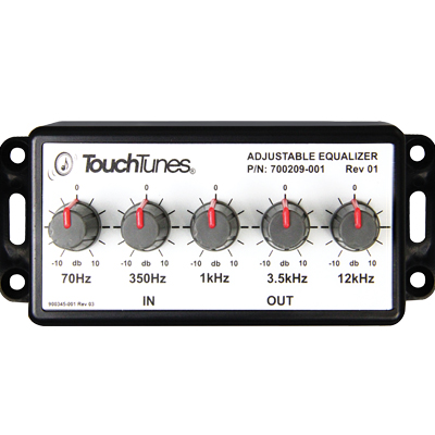 TouchTunes Max EQ five-band external equalizer - 700209-001 - Item Photo
