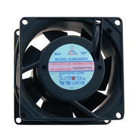 "Cooling Fan, 3.15""x 3,15"" x 1.50"", 110V, 2 Wire, Ball Bearing, W/o Connector - 70-0225-00 - Item Photo"