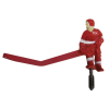 Red Player Long Stick for ICE Games - 7006X