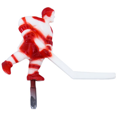 Red/White Player Short Stick - 7008X - Item Photo