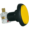 Yellow Elliptical Yellow IPB Lamp w/ .250 Microswitch #161 - 75-6004-85