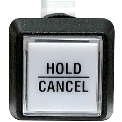 HOLD/CANCEL Button for IGT Slant Top machines - 75-6584-4180175 - Item Photo