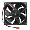 "Cooling Fan, 3.62"" x 3.62"" x 0.98"", 12V, 3 Wire, Ball Bearing, W/ Connector - 755000915"