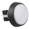 White Medium Round Combo Illuminated Pushbutton - 75V-0004-61
