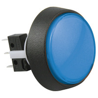 75V-0004-62 - Blue Medium Round Combo IPB #73 lamp