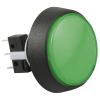 Medium Round Green Combo Illuminated Pushbutton - 75V-0004-63