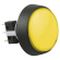 Yellow Medium Round Combo Illuminated Button - 75V-0004-65