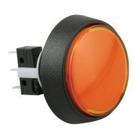 75V-0004-67 - Amber/Orange Medium combo round IPB #73 lamp