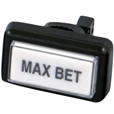 MAX/BET Button for IGT Game King Bar Top Machines with 14V #73 Lamp - 77-2012-518219 - Item Photo