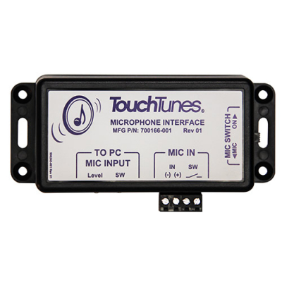 TouchTunes Microphone Interface for MX-1 - 700166-001 - Item Photo