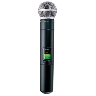 TouchTunes SM58 Microphone + SLX2 Handheld Transmitter - 700189-001 - Item Photo
