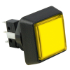 Yellow Small Square combo IPB w/ subminature microswitch #73 - 75V-0004-45