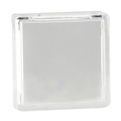Clear Small Square Clear lens cap - 75-4041-38 - Item Photo