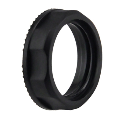 Black DC IPB fixing nut - 75-4108-00 - Item Photo