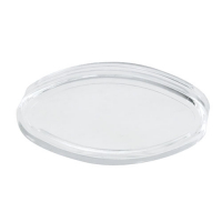 77-3810-08 - Clear Elliptical Lens Cap pushbuttons