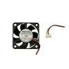 "Cooling Fan, 1.57""x 1.57""x 0.39"", 12V, 3 Wire, Ball Bearing, W/ Connector - 80-0006-28"