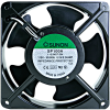 "Cooling Fan, 4.69"" x 4.69"" x 1.5"", 110V, Ball Bearing, W/ Connector (pins) - 80-0006-64"