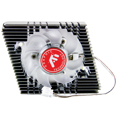 12V 2-wire Cooling Fan w/ connector - 80-0006-67 - Item Photo