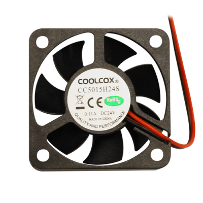 24V 2-wire sleeve bearing Cooling Fan w/ connector - 80-0006-68 - Item Photo