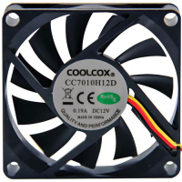 80-0006-73 - 12V 3-wire Cooling Fan w/o connector