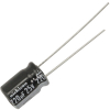 Radial Capacitor, 105 Degree, 25V, 220MF - 80-0117-105