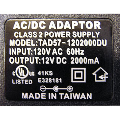 Plug-in Power Supply for Audio Amplifier - 80-1153-00 - Item Photo