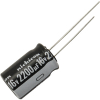 Radial Capacitor, 105 Degree, 16V, 2200MF - 80-1161-105