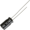 Radial Capacitor, 105 Degree, 100V, 22MF - 80-1168-105