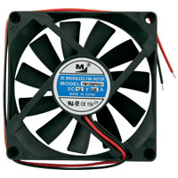 "3.15"" x .59"" 12VDC Cooling Fan for Merit Power Supply - 80-0006-35 - Item Photo"