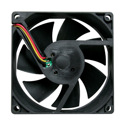 "Cooling Fan, 3.15"" x 3.15"" x 0.98"", 12V, 3 Wire, Sleeve Bearing, W/o Connector - 80-0006-44 - Item Photo"