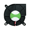 "Cooling Fan, 2.36"" x 2.36"" x 0.59"", 12V, 3 Wires, No Bearing, W. Connector - 80-0006-63"