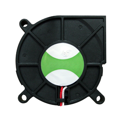 "Cooling Fan, 2.36"" x 2.36"" x 0.59"", 12V, 3 Wires, No Bearing, W. Connector - 80-0006-63 - Item Photo"
