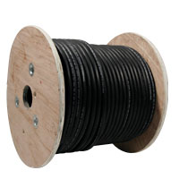 Hook-Up Wire, Blue with Black Stripe, 22 Gauge - 49-1154-10 - Item Photo
