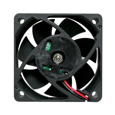 "Cooling Fan, 2.36"" x 2.36""x 0.79"", 12V, 2 Wire, Sleeve Bearing, W/o Connector - 80-0332-00 - Item Photo"