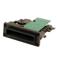 80-1157-01 - CardCom Partial Insertion Card Reader for Casino Data Systems Tracking Unit (with Bezel)