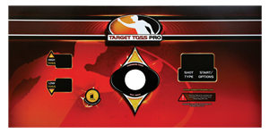"Control Panel Overlay Decal for use with Power Putt Golf (37"" x 17"") - 825100295R - Item Photo"