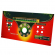 Control Panel Plexi w/ Art for use with Golden Tee Unplugged Fun-Glo Pedestal - 845000294R-FG