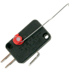 Coin Controls Coin Switch with Formed Actuator, Red - 891-1116-10