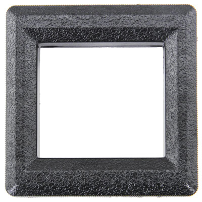 Return Bezel, Black Nylon for Wells Gardner / Coin Controls - 891-1312-16 - Item Photo