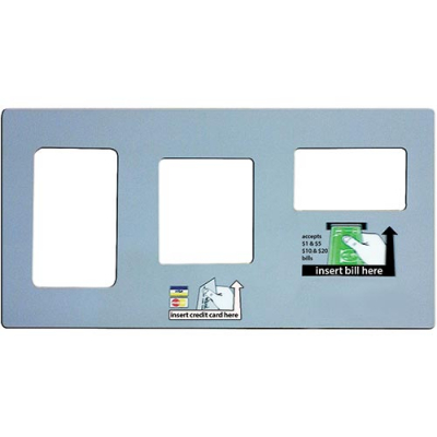 TouchTunes Generic Payment Bracket Label - 900215-007 - Item Photo