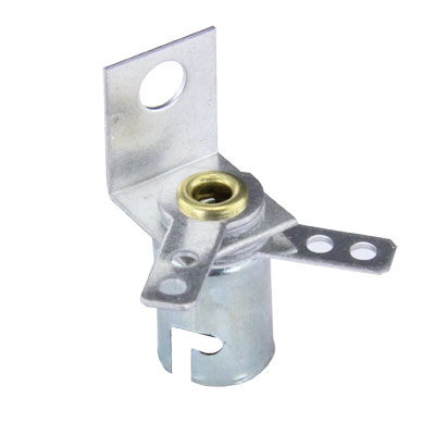 Socket for Mini-Lamps with 90° Right Angle Bracket - 91-0043-00 - Item Photo