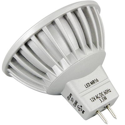 MR16 12V LED Projection Lamp, 170 Lumens, 3,000 Kelvin Color Temp. - 91-12404-00 - Item Photo